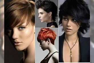 Krótkie fryzury - eleganckie i kobiece. Galeria supercięć