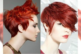 Krótka fryzura plus rudy kolor - aż 40 modnych propozycji na nowy sezon!