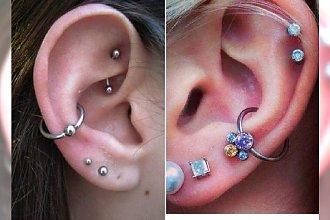 Orbital piercing - pomysły na modną ozdobę ucha