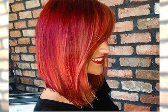 Rude odcienie włosów - najlepsze kolory i fryzury z Waszych galerii