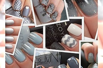 50 Shades of Grey: manicure we wszystkich odcieniach szarości dla fanek filmowego Christiana Greya! AŻ 50 PROPOZYCJI!