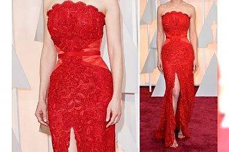 Najpiękniejsza kreacja z Oscarów według Vogue'a należy do...