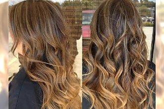 Refleksy w odcieniach blondu i karmelu - Wasze pomysły na efektowną koloryzację włosów