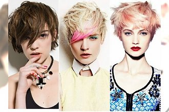 Modne krótkie fryzury 2015. Robimy bałagan na głowie!