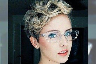Wiosenne fryzury z krótkich blond włosów - Mega Galeria!