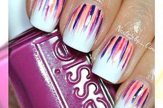 Waterfall nails: manicure jak wodospad! Przepiękne kolorowe kombinacje