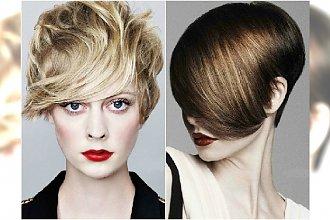 Krótkie fryzury z grzywką - supermodne cięcia 2015