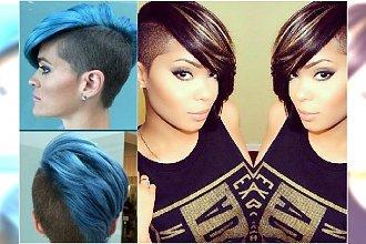 Krótkie fryzury asymetryczne - przeglądamy najgorętsze trendy roku