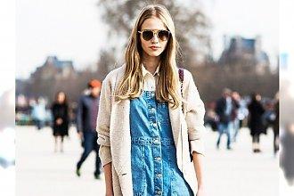 HOT: Trend na denimowe sukienki na wiosnę 2015