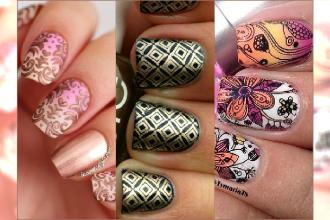 Stamping nails - wzorki robione stemplem. Sposób na ekspresowy manicure