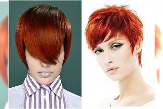Krótkie fryzury dla rudych włosów - galeria modnych cięć