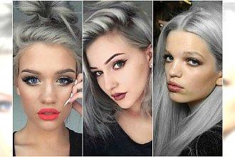 Szare włosy - nie jesteście przekonane? Mamy 25 dowodów, że mogą wyglądać pięknie