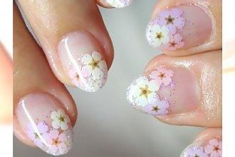 Wiosenny manicure dla okrągłych paznokci - Wybieramy najładniejsze wzory na 2015