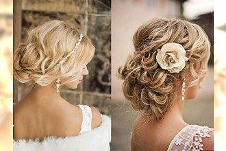 15 fryzur ślubnych - śliczne jak z obrazka!
