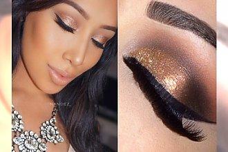 Gold make up - niesamowite propozycje makijażu z dodatkiem złotych odcieni