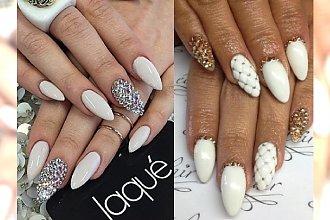Biel, złoto i srebro, czyli elegancja i luksus w formie manicure-u!