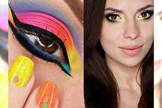 Fluorescencyjny makijaż oka - wyraź siebie modną neonową kreską!