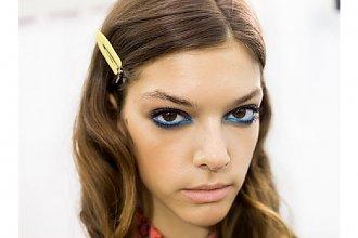 HOT: Niebieski akcent - Makijaż 2015 roku!