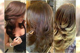 Długie włosy cięte warstwowo. Podpowiadamy, jak osiągnąć efekt hollywoodzkiej fryzury