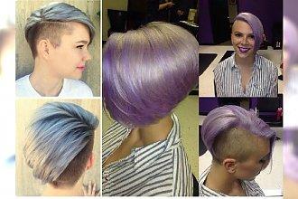 """Gorący trend: asymetryczne fryzury """"pół na pół"""". Macie odwagę na takie cięcie?"""