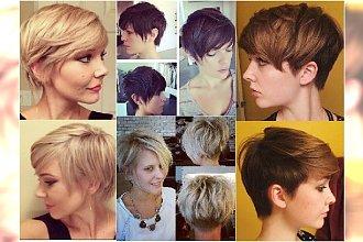 Krótkie fryzury - cieniowane pixie. 20 ślicznych fryzurek prosto z salonu