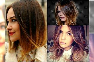 Ombre bob - fryzura, która podbiła wiosenne trendy. Galeria najpiękniejszych fryzur