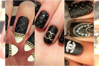 TREND: Pikowane paznokcie jak torebka Chanel