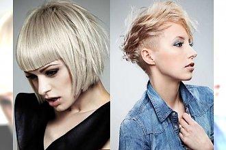 Krótkie blond fryzury - pełne charyzmy i dobrego smaku