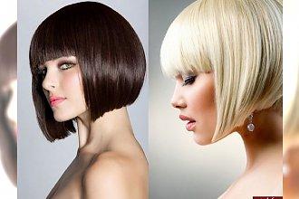 Super modne cięcia włosów w pół szyi dla brunetek i blondynek [HOT!]