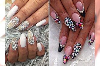 Cekiny, perełki, łańcuszki - manicure 3D dla ekstrawaganckich kobiet!