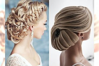 Oryginalne fryzury ślubne - katalog najpiękniejszych propozycji
