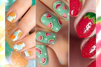 Owocowy manicure - 50 soczystych wzorków, które dodadzą Ci świeżości i przybliżą do lata!