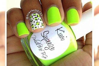 Manicure jak kiwi! Wypróbuj soczysty kolor i ciesz się wiosną