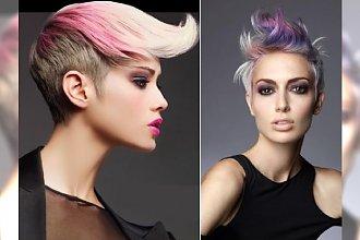 Krótkie fryzury w połączeniu z kolorowymi pasemkami - kolorowy zawrót głowy na letnie dni!