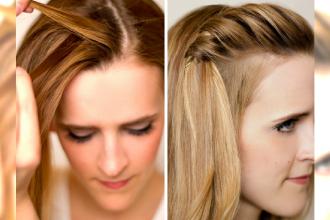 17 Sposobów na zaczesanie grzywki - Odświeżające fryzury na lato