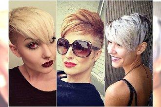 Krótkie fryzury: z grzywką, pixie, undercut. Galeria pomysłów na modny look