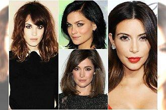 Śliczne półdługie fryzury dla brunetek - 20 propozycji, którym się nie oprzecie!