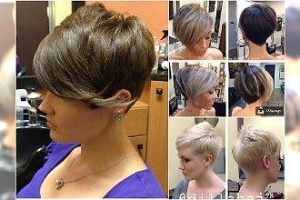 Krótkie fryzury z grzywką - śliczne i ultrakobiece. Najlepsze propozycje prosto z salonu