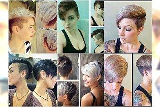 Krótkie fryzury z wygolonym bokiem - odświeżamy stary trend! Galeria najlepszych fryzur undercut