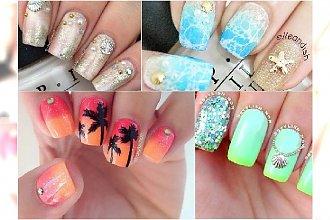 Plażowy manicure - super wzorki na paznokcie z morskimi motywami