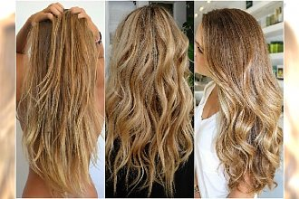 Musztardowy blond - modny kolor włosów dla uwielbiających ciemne odcienie blondu