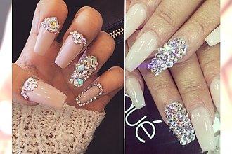 BLING BLING! Błyskotki na paznokciach dla kobiet kochających luksus!