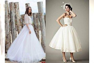 """15 sukni ślubnych pełnych magii - fasony inne niż """"wszystkie"""""""