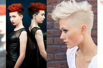 Krótkie fryzury z wyraźnym pazurkiem dla pozytywnie zakręconych kobiet