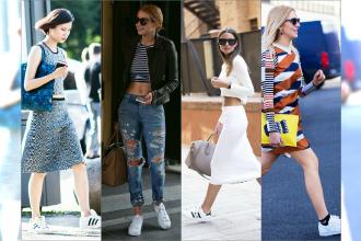 """HOT: """"It shoe"""" tego sezonu - Tenisówki Adidas """"Superstar"""" robią furorę wśród fashionistów"""