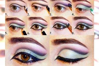 Koniec ery makijaży nude! W tym sezonie bawimy się kolorem - Zobacz 15 czarujących make up które warto wypróbować