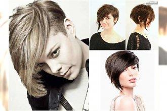 Krótkie fryzury - najlepsze asymetryczne cięcia 2015