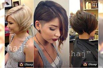 Fryzury dla włosów za ucho. 20 ślicznych fryzurek dla tej modnej długości