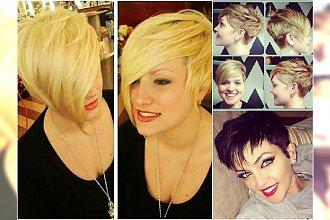 Krótkie fryzury z grzywką: na bok, prostą, długą i krótką. TOP 30 super fryzur