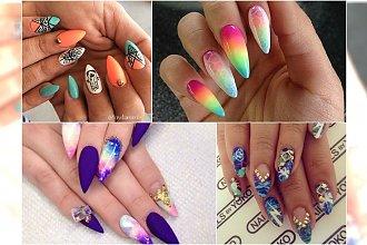 Manicure na migdałowe paznokcie. Eleganckie wzory, które skradną Wasze serca!